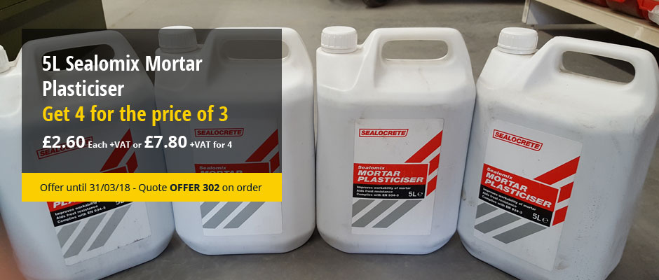 5L Sealomix Mortar Plasticiser